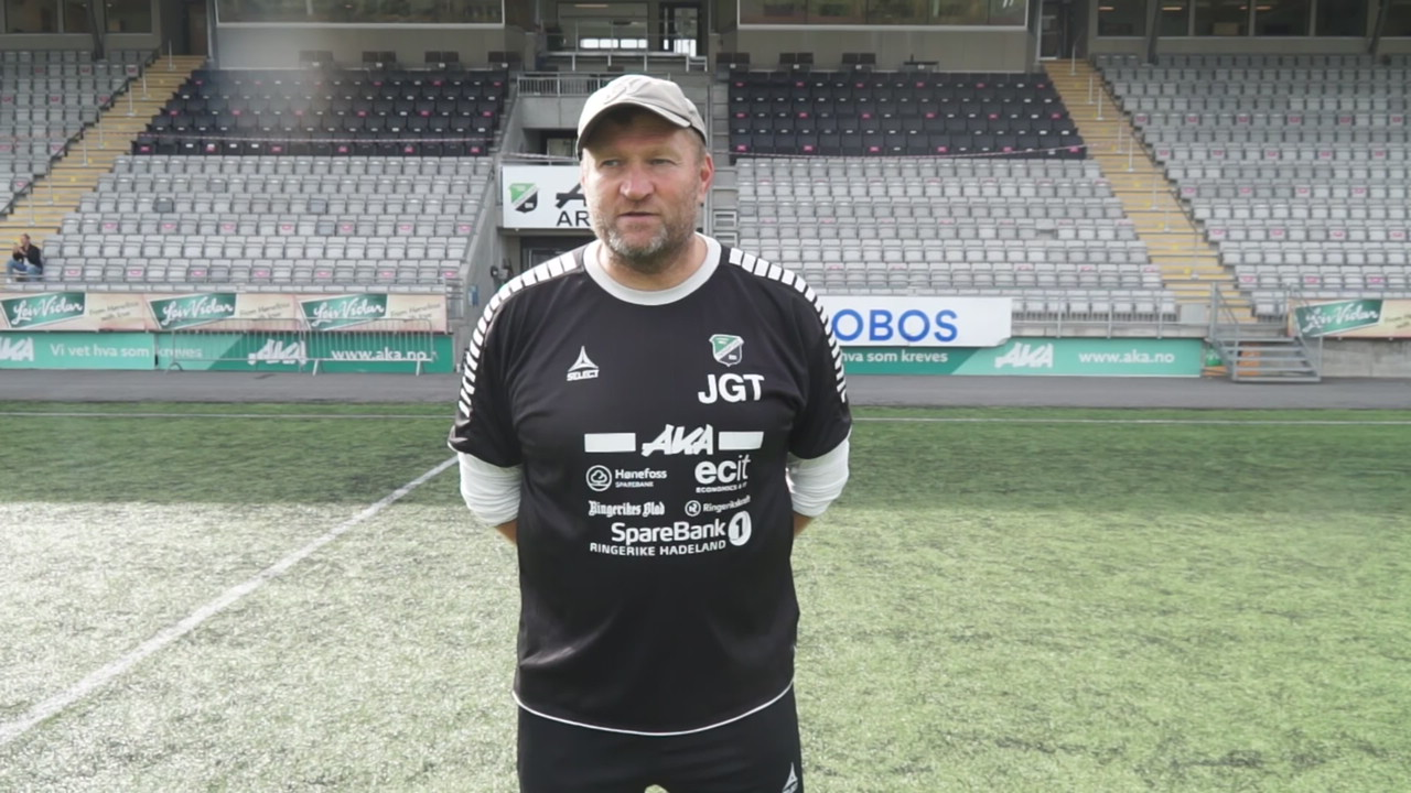 Jan etter 7-0 over Fart
